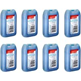 """RUBBERMAID - 1026-TL-220 """"BLUE ICE"""" MINI PAK 8 OZ, Reusable, Non-toxic, 8 PK"""