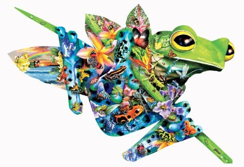Paradise Frogs 1000 pc Jigsaw Puzzle