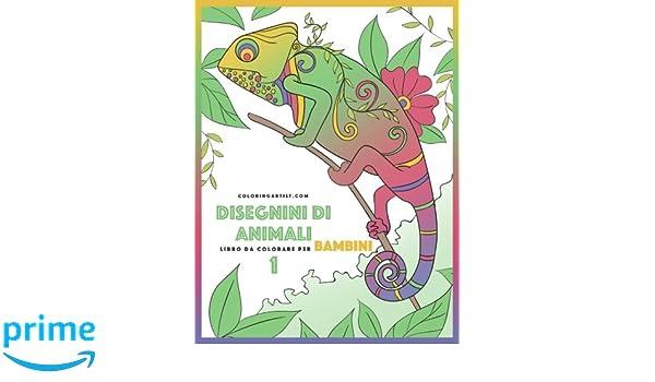 Disegnini Di Animali Libro Da Colorare Per Bambini 1 Disegnini Di