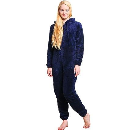 SALICEHB Pijamas Cálidos De Invierno Mujeres Más El Tamaño De La Ropa De Noche Pijamas De