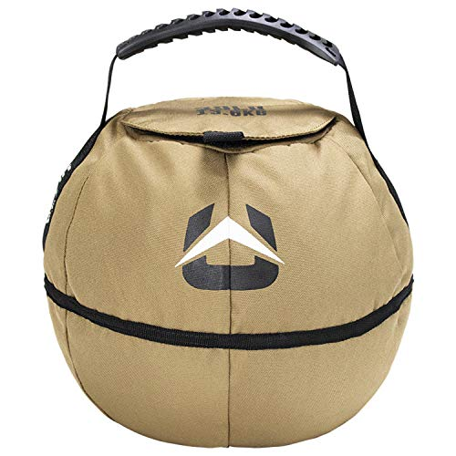Ultra Fitness Portable Sandbag Kettle, 30 Pounds (lbs), Weight Adjustable Sand-Bag Training Equipment with Removable Liner