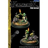 Outcasts: Pere Ravage & Gas Pig by Wyrd Miniatures by Malifaux