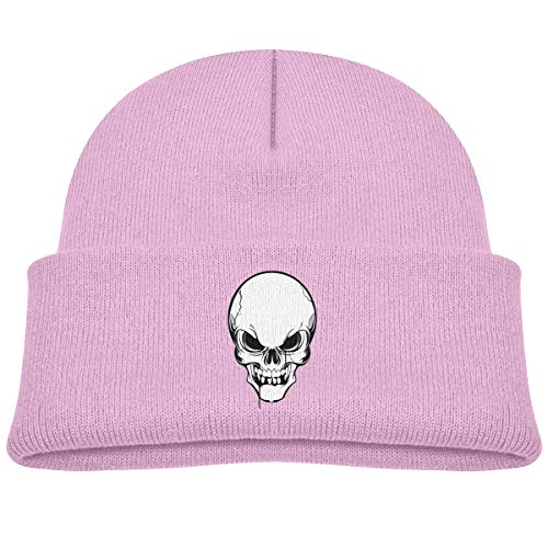 Laki-co Skull Skeleton Tattoo Kid Knitted Beanies Hat Boys Girls Winter Hat Knitted Skull Cap -