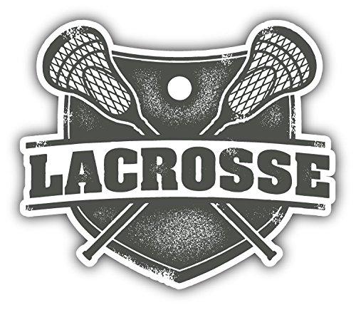 Lacrosse Sport Car Bumper Sticker Decal 5' X 4' Paradice