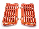 Flo Motorsports Orange Radiator Guard/brace/shrouds Ktm/husqvarna/husaberg