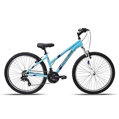 "26"" Royce Union RTT Womens 21-Speed Mountain Bike, 15"" Aluminum Frame, Trigger Shift, Sky Blue"