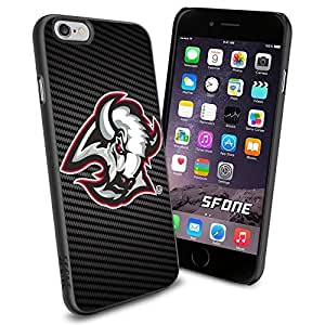 Buffalo Sabres Carbon Fiber Design #1750 Hockey iPhone 4s Case Protection Scratch Proof Soft Case Cover Protector