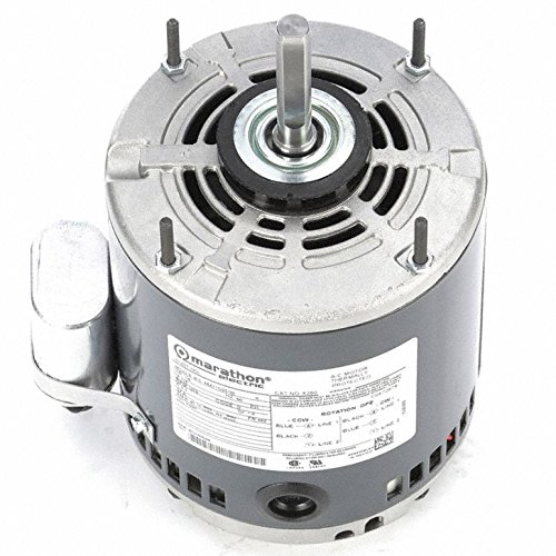 Marathon Electric/Regal Beloit - 048A11O251-1/6 HP OEM Replacement Motor, Permanent Split Capacitor, 1075 Nameplate RPM, 115 VoltageFrame 48Z