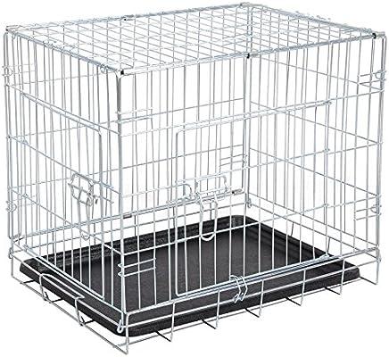 Woltu® ht2080sb2 jaula para animales recinto para perros gatos ...