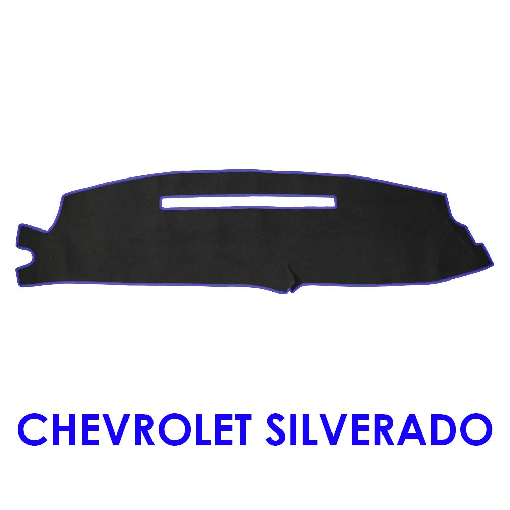 Tahoe 07-13, Black JIAKANUO Auto Car Dashboard Dash Board Cover Mat Fit Chevy Chevrolet Tahoe 2007-2013 JKNSS55