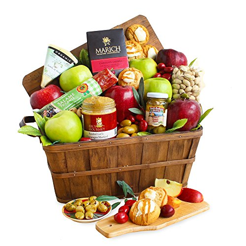 California Delicious Indulgent Gourmet and Fruit Basket