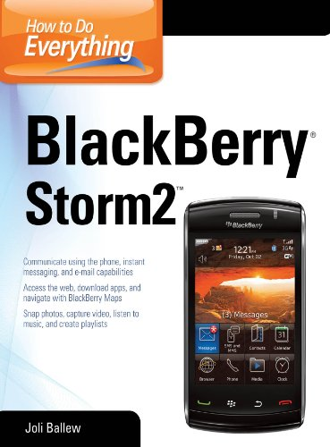 Palm Treo Desktop - How to Do Everything BlackBerry Storm2