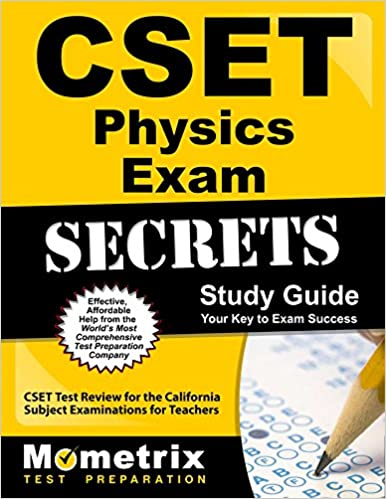 CSET Physics Exam Secrets Study Guide CSET Test Review For