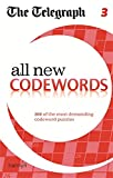 The Telegraph All New Codewords 3 (The Telegraph Puzzle Books)