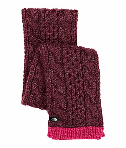 UPC 889587767250, The North Face Cable Minna Scarf Deep Garnet Red One Size