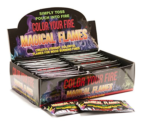 Magical Flames (50, Magical) (Crystals Flame Rainbow Fireplace)