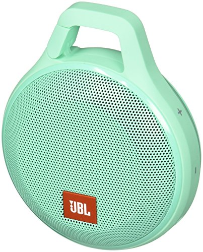 (JBL Clip+ Splashproof Portable Bluetooth Speaker (Teal))