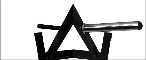 BodyRip Olympic Weight Adapter 14 Inch Sleeve /& Collars Bar Multi Gym Black