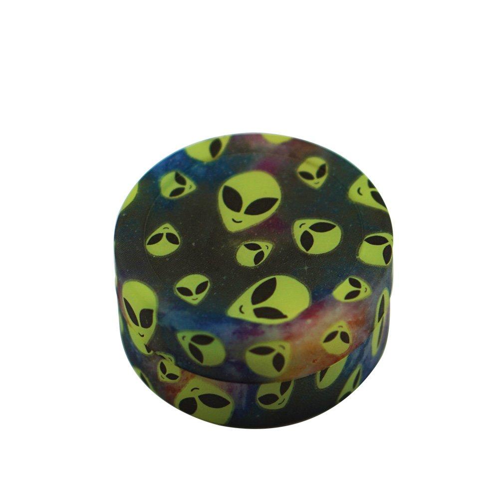 X-Value Dab Container Silicone Wax Jar 22ml Colorful Alien Design 5PCS Non-stick Storage Jar Multi Use