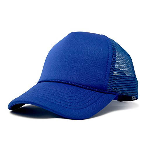(DALIX Baby Girls Boys Toddler Cap Trucker Hat Caps Childrens Infant Kids Hats (Royal Blue))