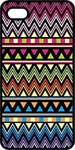 Aztec Pattern #2 Black Plastic Case for Apple iPhone 5 or iPhone 5s