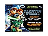 Lego Star Wars Birthday Party Invitations ANY AGE Custom
