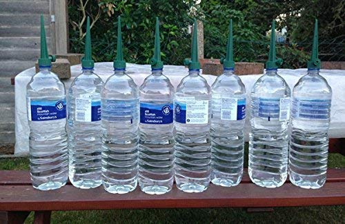 Garden Mile® 8x Plant Bottle Top Watering Spike Easy Seed And Plant Irrigation Perfect For Pots And Hanging Baskets