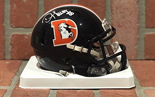 Thomas Autographed Helmet - Demaryius Thomas autographed signed mini helmet Denver Broncos JSA w/ COA