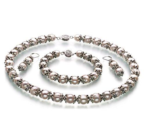 MarieAnt Blanc 8-9mm A-qualité perles d'eau douce -un set en perles