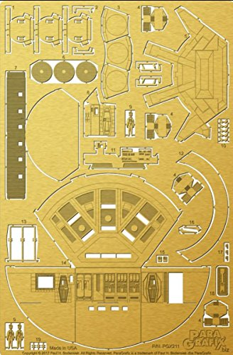Paragrafix 1/44 Scale Discovery XD-1 Pod Bay Photoetch Set (Discovery Bay)