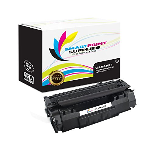 Smart Print Supplies Compatible 49A Q5949A MICR Black Toner Cartridge Replacement for HP 1160 1320 Printers (2,500 ()