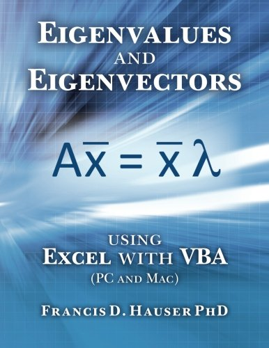 Eigenvalues Eigenvectors using Excel VBA product image
