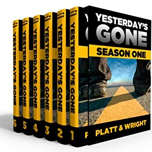 Yesterday's Gone: Season One Hörbuch