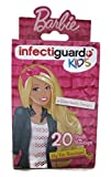 Barbie Kids Infectiguards Bandages 20ct Boxes (1-pk)