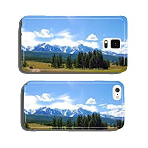 Altai summer landscape, Russia cell phone cover case Samsung S6