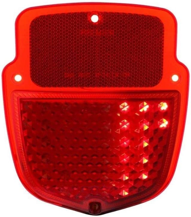 United Pacific 110145 38 Red LED Sequential Tail Light for 1953-1956 Ford Truck Passenger