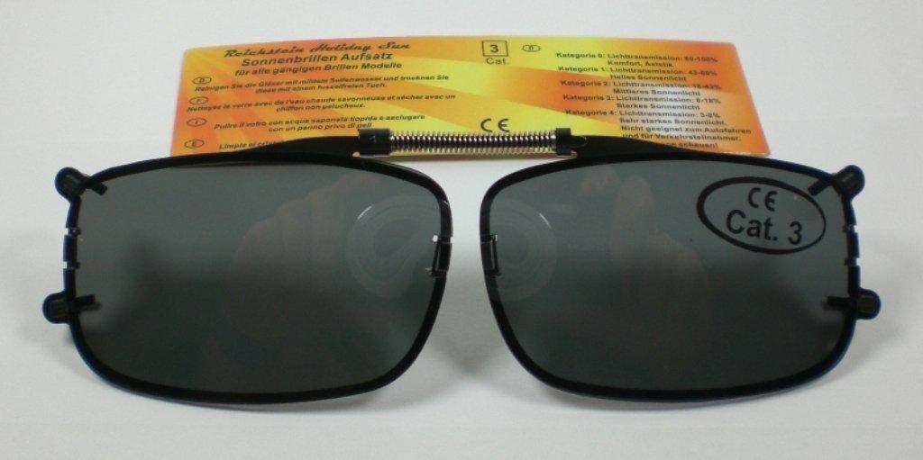Sonnenbrillenaufsatz Sonnenbrillen-Clip Sehbrillen-Aufsatz ...