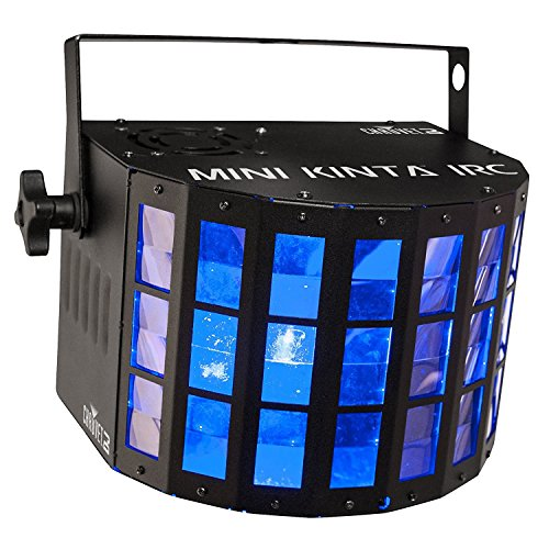(2 Chauvet DJ Mini Kinta IRC LED RGBW Sharp Beams Derby DMX Ambient Light Effects)