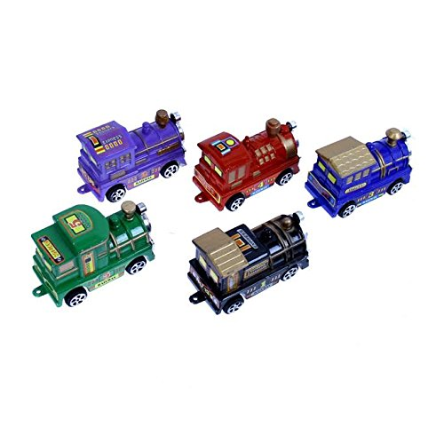 Dazzling Toys 5 Piece Train Car Combo (Decorations Thomas Train Cake)