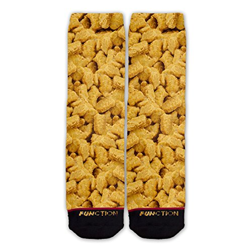 - Function - Chicken Nuggets All Over Fashion Sock