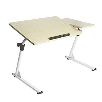 Ordinaire Soges Adjustable Lap Table Portable Laptop Computer Stand Desk Cart Tray  Notebook Lap Side Table For
