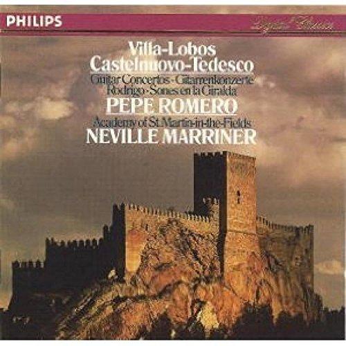 Villa-Lobos: Concerto for Guitar; Castelnuovo-Tedesco: Concerto No 1