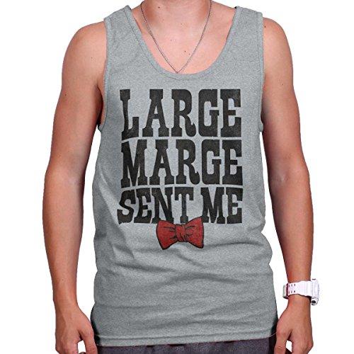 Brisco Brands Large Marge Sent   Pee Wee Big Adventure Peewee Herman Retro Tank Top Shirt