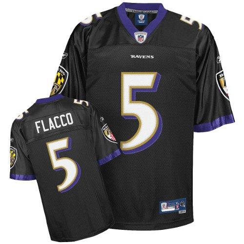 Reebok Baltimore Ravens Joe Flacco Premier Alternate Jersey Medium