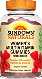 Best Sundown Naturals Vitamins For Nails - Sundown Naturals Women's Multivitamin with Biotin, 60 Gummies Review