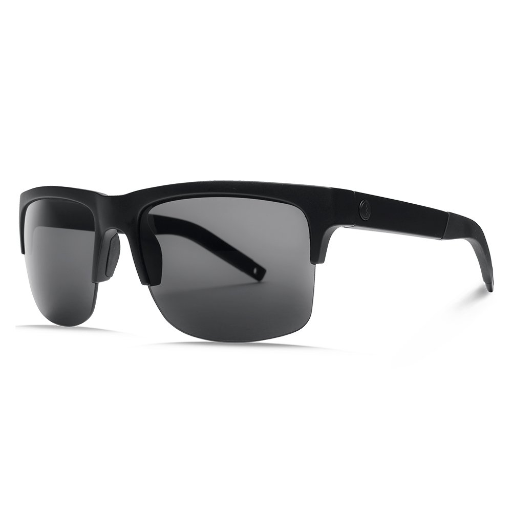 1198376ec980 Amazon.com  Electric Visual Knoxville Pro Matte Black OHM Polarized Grey  Sunglasses  Sports   Outdoors