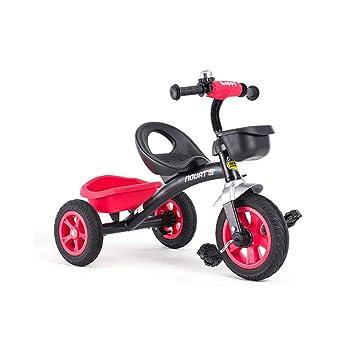 QHWJ Bicicleta de Tres Ruedas para niños, Triciclo al Aire ...