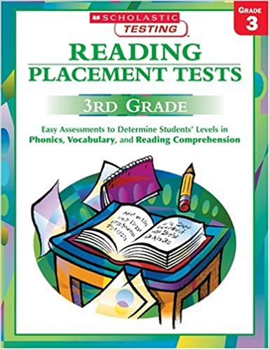 Amazon.com: Reading Placement Tests: Third Grade: Easy ...