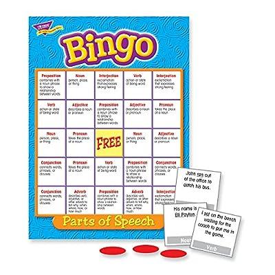 Parts of Speech Bingo Game: Toys & Games