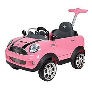 Huffy Mini Cooper Girls Foot to Floor RideOn Pink by Huffy